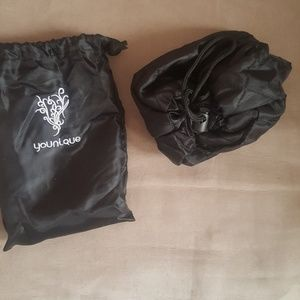 Younique cinch makeup bag NEW IN PACKAGE